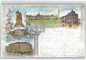 Hanau Main Hanau Theater Grimms Geburtshaus x / Hanau /Main-Kinzig-Kreis LKR