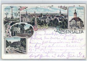 Bad Langensalza Bad Langensalza Schwefelbad Rathaus x / Bad Langensalza /Unstrut-Hainich-Kreis LKR
