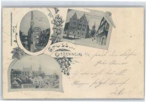 Oppenheim Oppenheim Rathaus Ruine Landskrone x / Oppenheim /Mainz-Bingen LKR