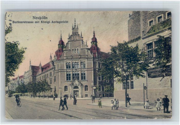 Neukoelln Neukoelln  Berlinerstrasse Gericht x / Berlin /Berlin Stadtkreis