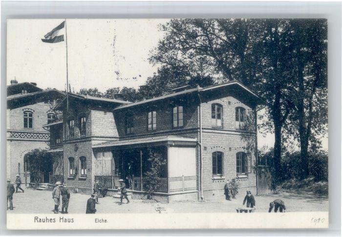 AK Hamburg Horn Rauhes Haus Schulhaus Nr