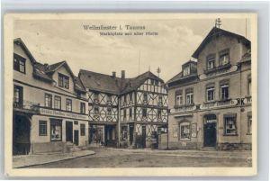 Weilmuenster Weilmuenster Marktplatz  x / Weilmuenster /Limburg-Weilburg LKR