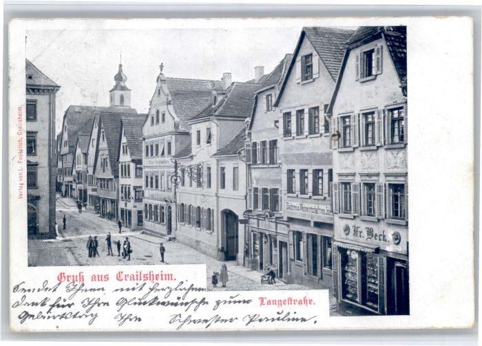 Crailsheim Crailsheim Langestrasse x / Crailsheim /Schwaebisch Hall LKR