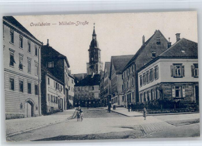 Crailsheim Crailsheim Wilhelmstrasse x / Crailsheim /Schwaebisch Hall LKR
