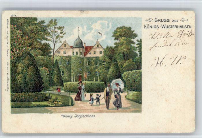 Koenigs-Wusterhausen Koenigs Wusterhausen Jagd Schloss  x / Koenigs Wusterhausen /Dahme-Spreewald LKR