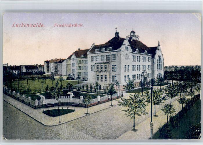 Luckenwalde Luckenwalde Friedrich Schule  x / Luckenwalde /Teltow-Flaeming LKR