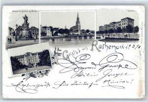 Rathenow Rathenow Denkmal Kaserne x / Rathenow /Havelland LKR