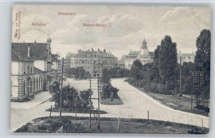 Rastatt Rastatt Bahnhof Hotel  x / Rastatt /Rastatt LKR