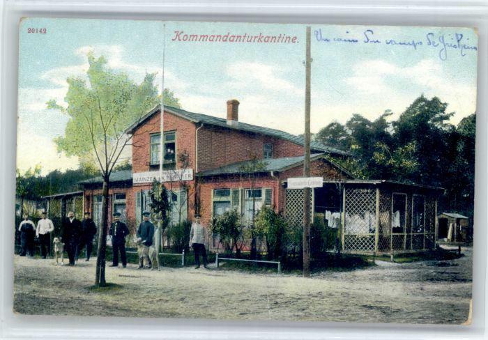 Darmstadt Darmstadt ? Kommandanturkantine * / Darmstadt /Darmstadt Stadtkreis