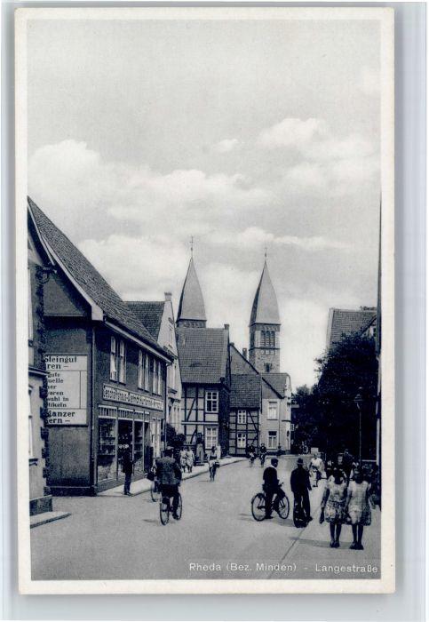 Rheda-Wiedenbrueck Rheda-Wiedenbrueck Langestrasse * / Rheda-Wiedenbrueck /Guetersloh LKR
