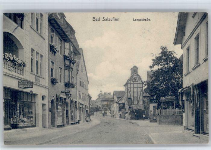 Bad Salzuflen Bad Salzuflen Langestrasse x / Bad Salzuflen /Lippe LKR