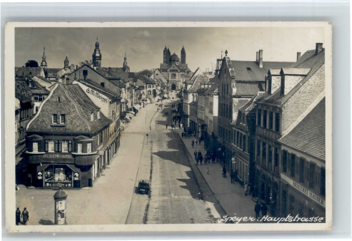 Speyer Rhein Speyer Hauptstrasse x / Speyer /Speyer Stadtkreis