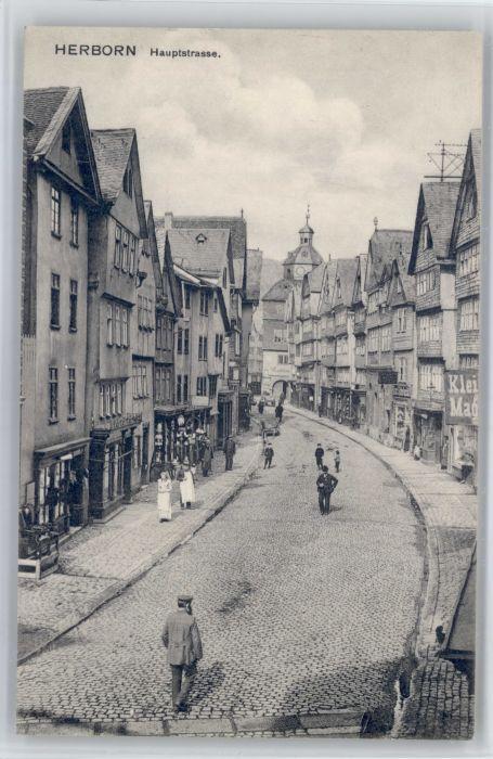 Herborn Hessen Herborn Hauptstrasse x / Herborn /Lahn-Dill-Kreis LKR