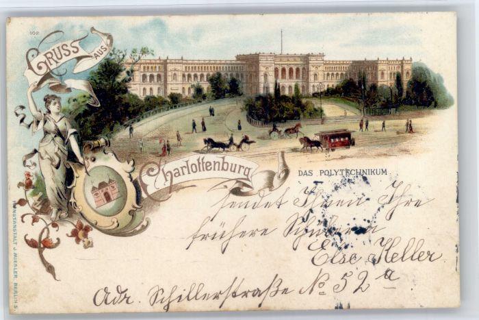 Charlottenburg Charlottenburg Polytechnikum x / Berlin /Berlin Stadtkreis