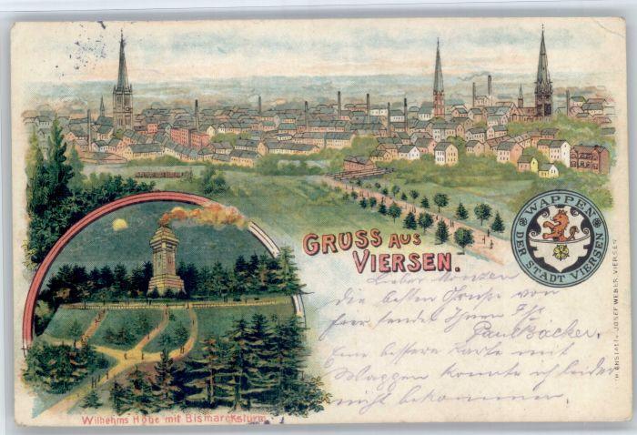 Viersen Viersen Wihelms Hoehe Bismarckturm x / Viersen /Viersen LKR