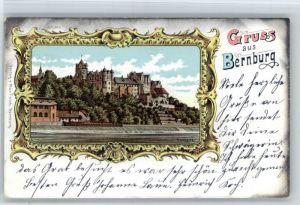 Bernburg Saale Bernburg Schloss x / Bernburg /Salzlandkreis LKR