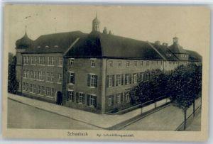 Schwabach Schwabach Lehrerbildungsanstalt x / Schwabach /Schwabach Stadtkreis