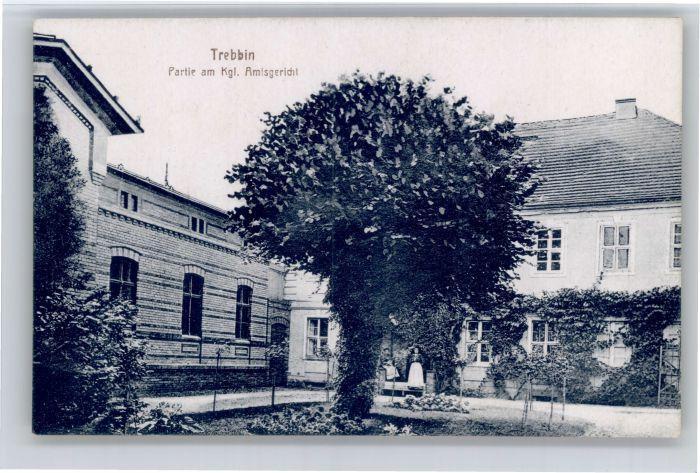 Trebbin Trebbin Amtsgericht * / Trebbin /Teltow-Flaeming LKR