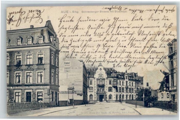 Aue Sachsen Aue Schneebergerstrasse Stadthaus x / Aue /Erzgebirgskreis LKR