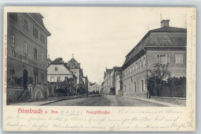 Simbach Inn Simbach Inn Hauptstrasse x / Simbach a.Inn /Rottal-Inn LKR