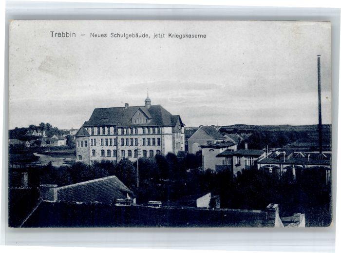 Trebbin Trebbin Schulgebaeude Kriegskaserne x / Trebbin /Teltow-Flaeming LKR