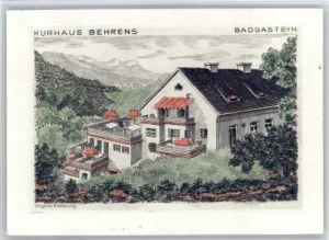 Bad Gastein Bad Gastein Kurhaus Behrens x / Bad Gastein /Pinzgau-Pongau
