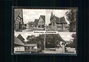 Lauenau Kirche Marktstrasse Wasserschloss Wassermuehle *