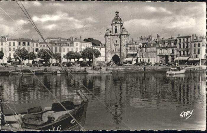 La Rochelle Charente-Maritime La Rochelle Port Tour Grosse Horloge x / La Rochelle /Arrond. de La Rochelle