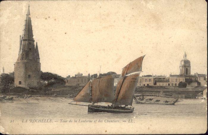 La Rochelle Charente-Maritime La Rochelle Tour de la Lanterne des Chantiers * / La Rochelle /Arrond. de La Rochelle