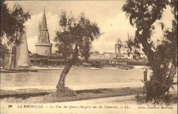 La Rochelle Charente-Maritime La Rochelle la Tour des 4 Sergents * / La Rochelle /Arrond. de La Rochelle