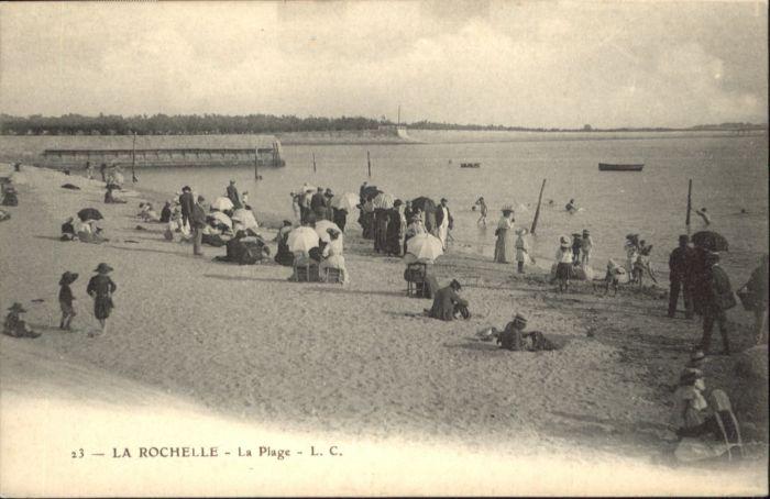 La Rochelle Charente-Maritime La Rochelle la plage * / La Rochelle /Arrond. de La Rochelle