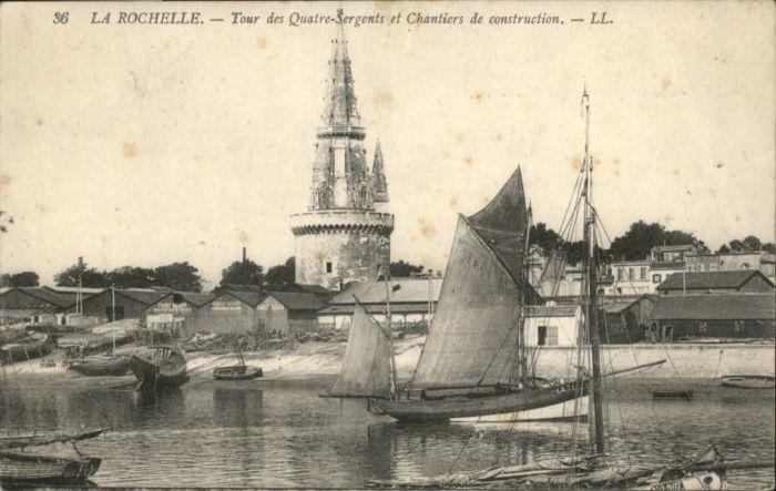 La Rochelle Charente-Maritime La Rochelle Tour des 4 Sergents Chantiers de construction x / La Rochelle /Arrond. de La Rochelle