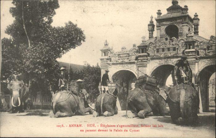 Hue Annam Elephants *