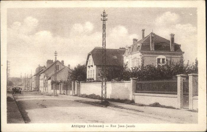 Attigny Ardennes Rue Jean-Jaures *