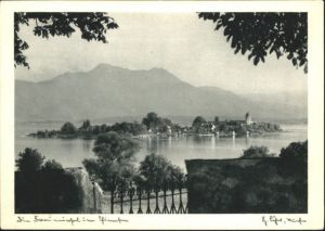 Fraueninsel Chiemsee Fraueninsel Chiemsee  * / Chiemsee /Rosenheim LKR