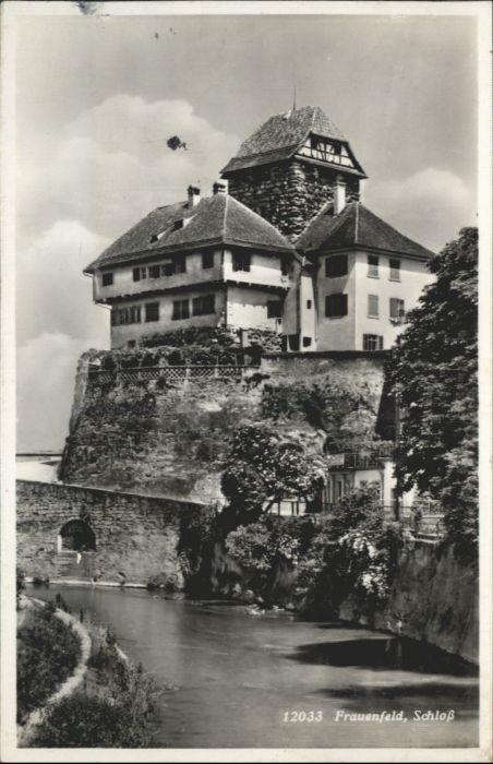 Frauenfeld Frauenfeld Schloss x / Frauenfeld /Bz. Frauenfeld