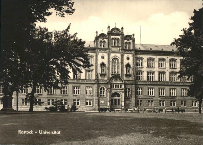 Rostock Mecklenburg-Vorpommern Rostock Universitaet * / Rostock /Rostock Stadtkreis