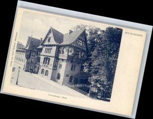 Meiningen Thueringen Meiningen Henneberger Haus * / Meiningen /Schmalkalden-Meiningen LKR