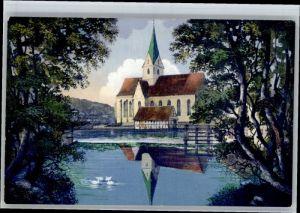 Blaubeuren Blaubeuren Blautopf Kirche * / Blaubeuren /Alb-Donau-Kreis LKR