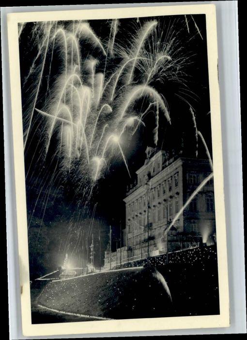 Ludwigsburg Ludwigsburg [handschriftlich] Feuerwerk * / Ludwigsburg /Ludwigsburg LKR