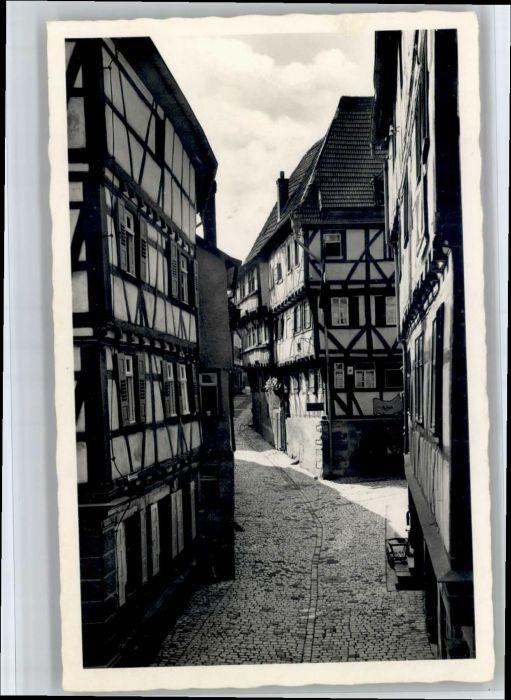 Mosbach Baden Mosbach Schwanengasse * / Mosbach /Neckar-Odenwald-Kreis LKR