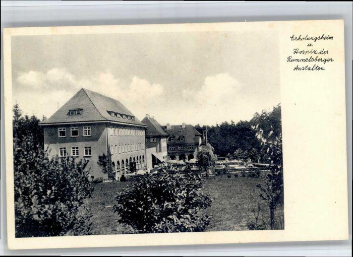Rummelsberg Rummelsberg Erholungsheim Hospiz * / Schwarzenbruck /Nuernberger Land LKR
