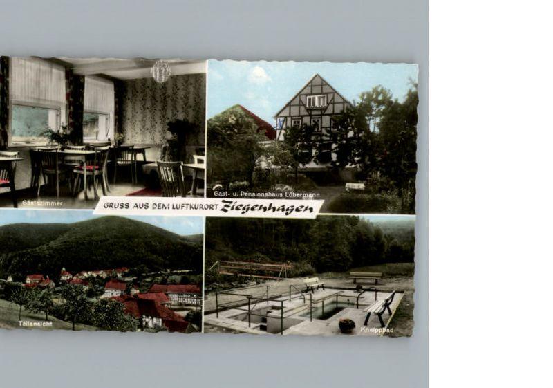 Ziegenhagen Witzenhausen Gasthaus Loebermann / Witzenhausen /Werra-Meissner-Kreis LKR