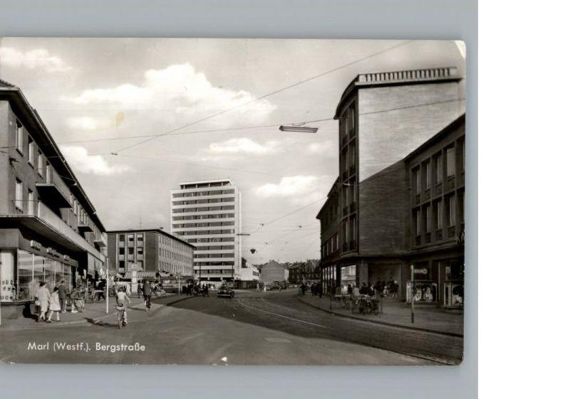 Marl Westfalen Bergstrasse / Marl /Recklinghausen LKR