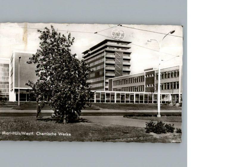 Marl Westfalen Chemische Werke / Marl /Recklinghausen LKR