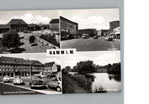 Hamm Westfalen Bahnhof, Marktplatz, Westentor / Hamm /Hamm Stadtkreis