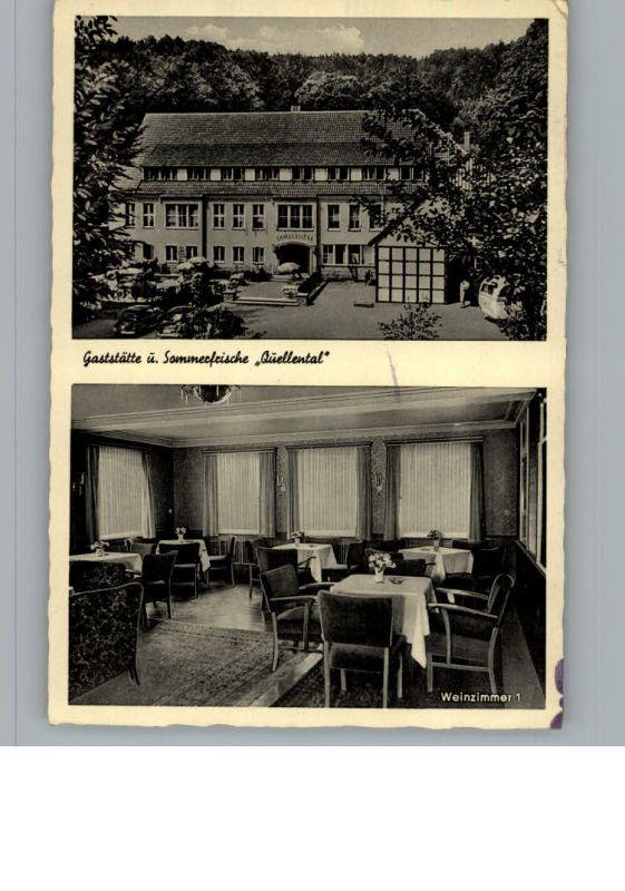 Steinhagen Westfalen Gaststaette Quellental / Steinhagen /Guetersloh LKR