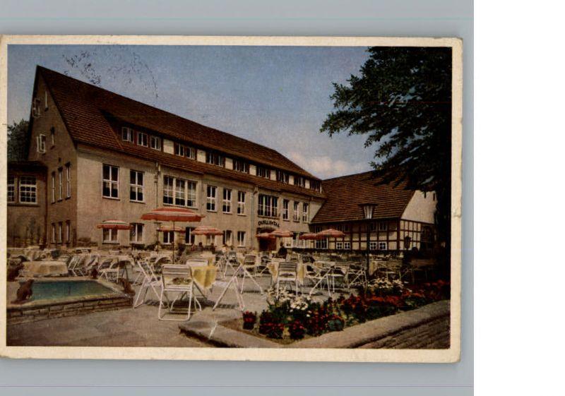 Steinhagen Westfalen Berghotel Quellental / Steinhagen /Guetersloh LKR