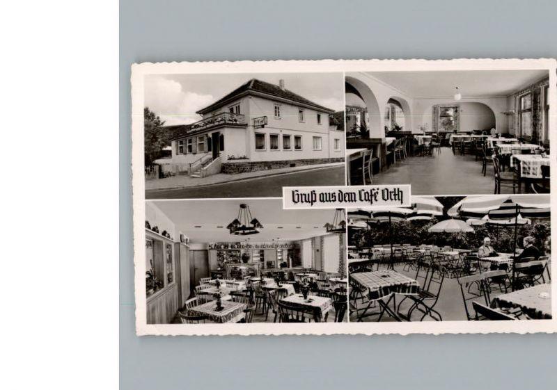 klapp ak zell cafe orth totalansicht aus der vogelschau nr 7654356 oldthing ansichtskarten. Black Bedroom Furniture Sets. Home Design Ideas