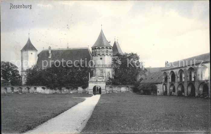 Rosenburg Mold Schloss Rosenburg Kat. Rosenburg Mold